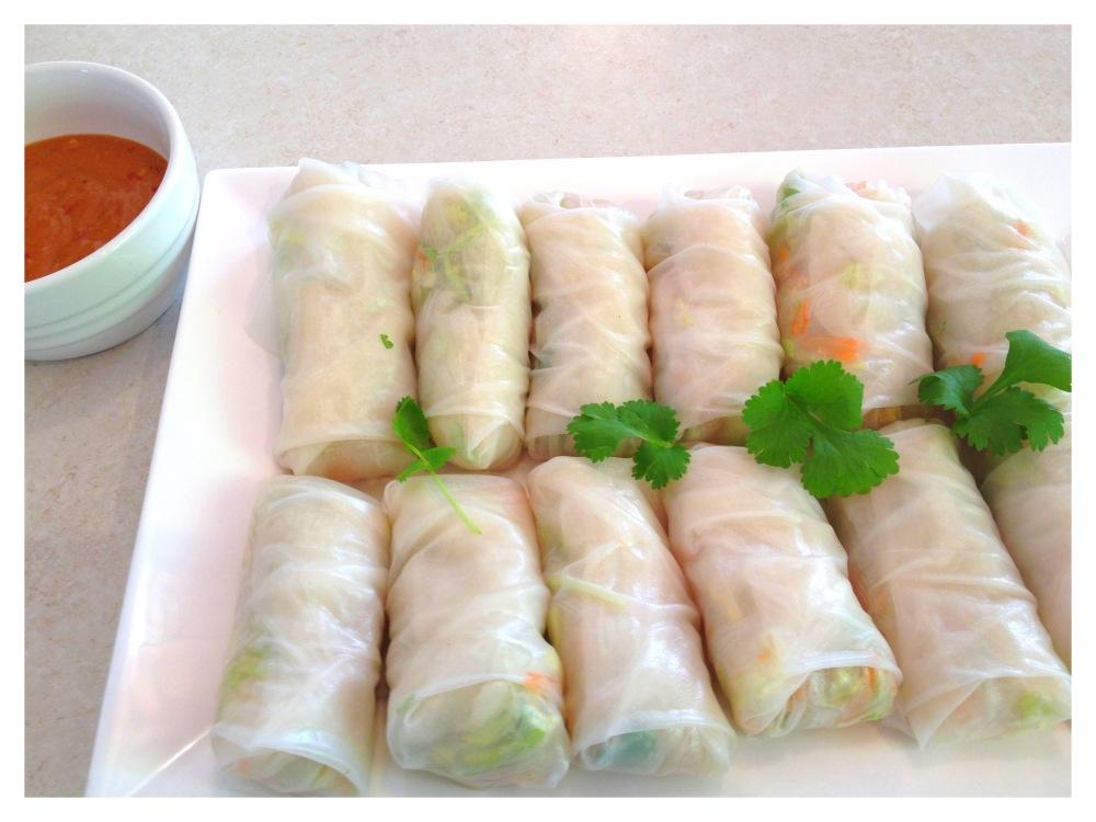 Gỏi cuốn - Vietnamese fresh spring rolls